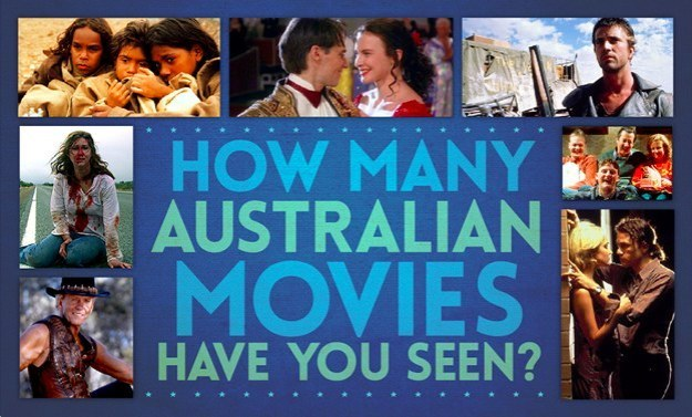 how many aussie movies