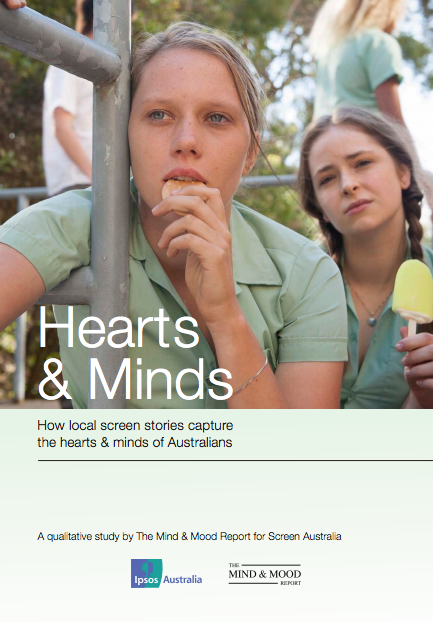 Hearts and Minds front cover