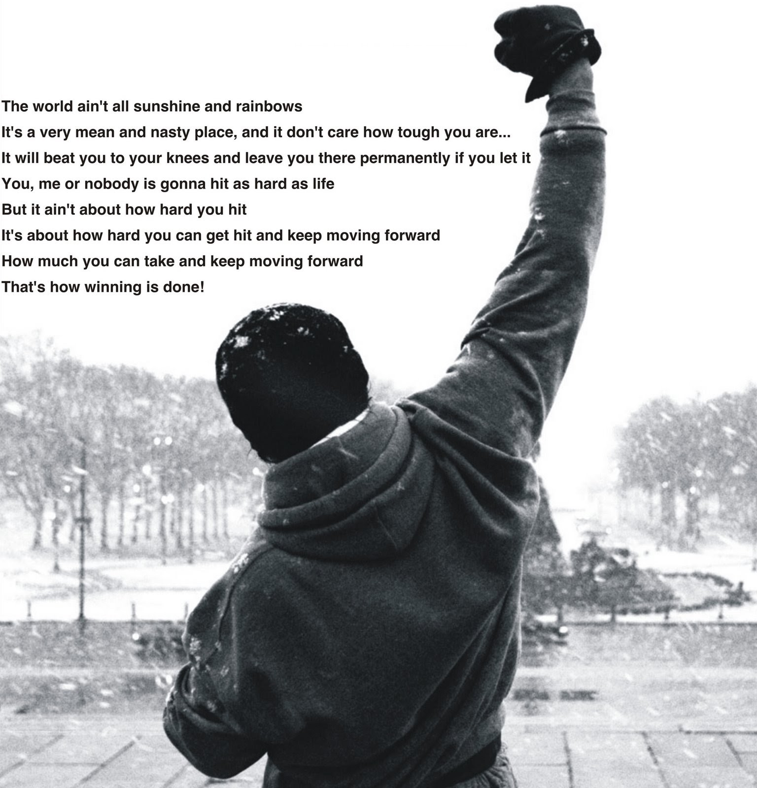Rocky Balboa Life Is Hard Quote: Quote: Sylvester Stallone, His Dog And The Making Of Rocky
