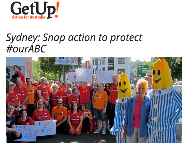 ABC Get Up Rally